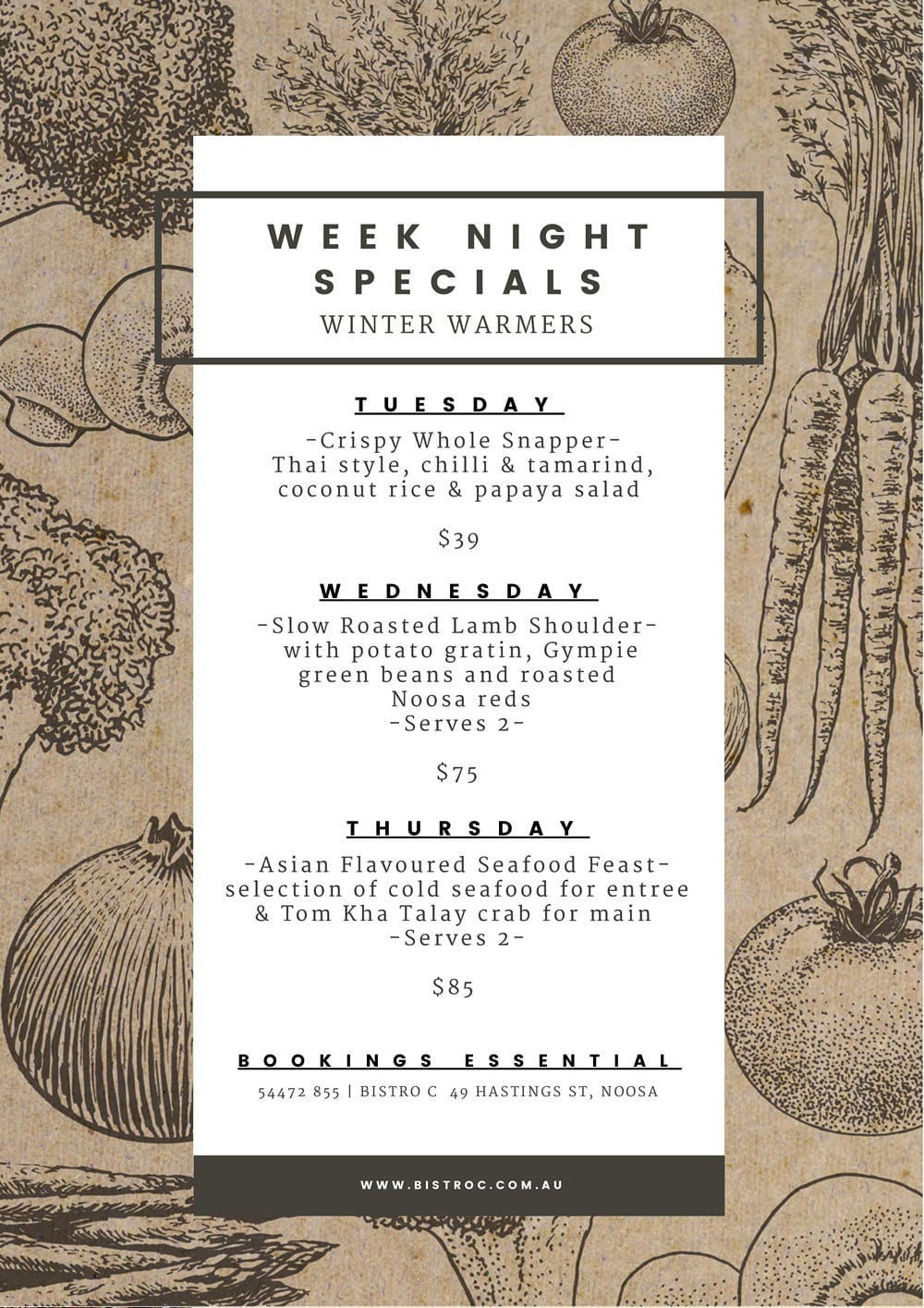 Week Night Specials Single Page 2018 06 14
