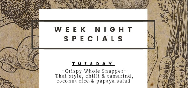 Week Night Specials Whats On 2019 02 20